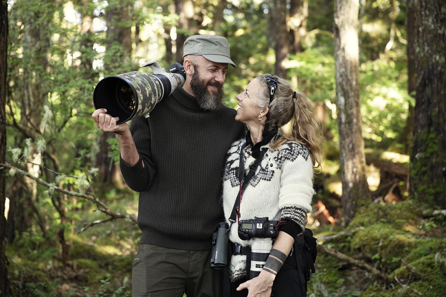 Vores vilde verden - Helle og Uri Løvevild Golman