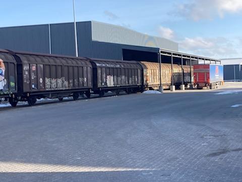 Collicare Sender tog fra Italien til DKI's lager i Køge.